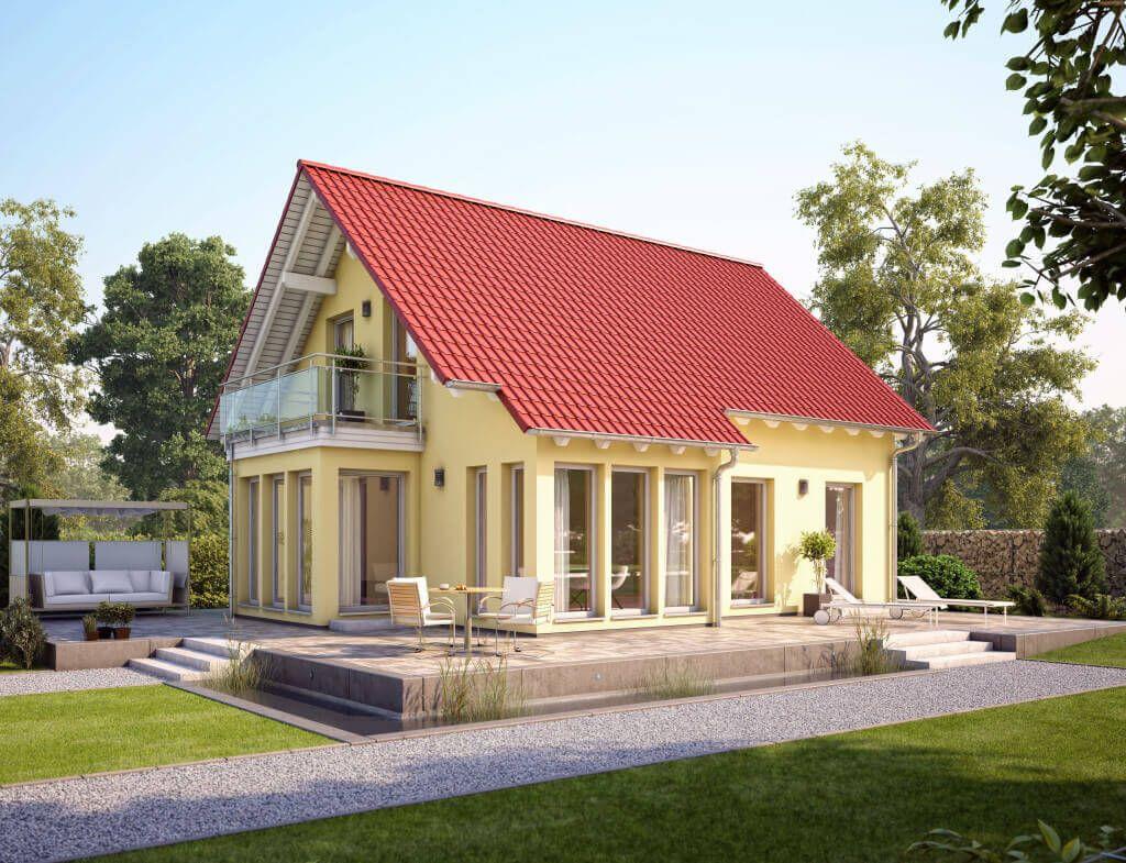 Solution 124 V2 Living Haus Fertighaus Mit Satteldach