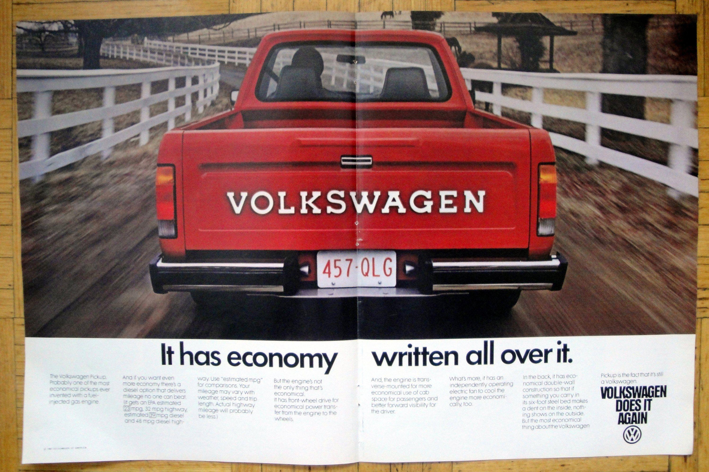 1980 Vw Pickup Truck Red Volkswagen Economy Original 2 Page 13