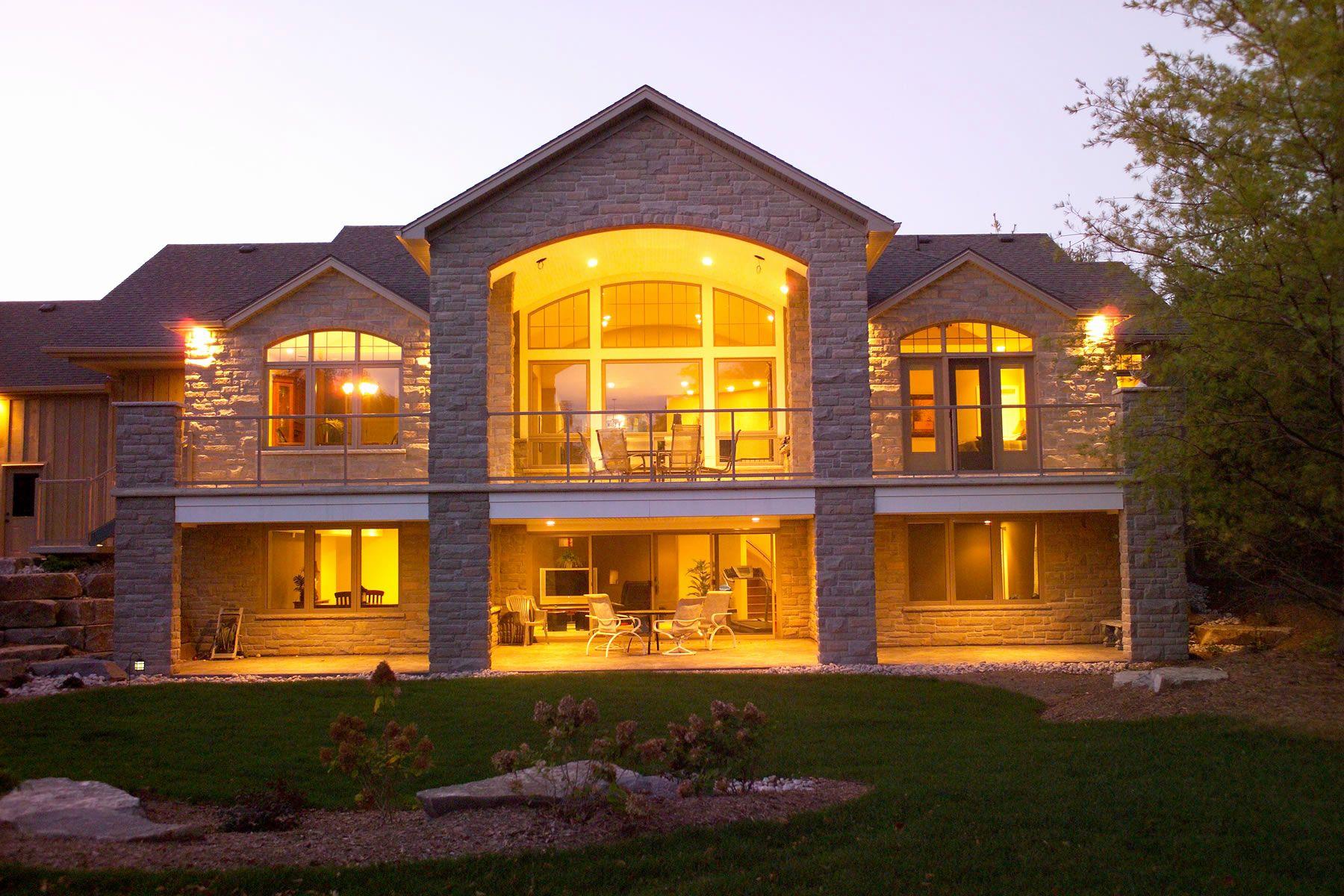 Pool Design Plans House Plans Walkout Basement Daylight