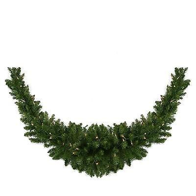 Wreaths Garlands and Plants 117419 Northlight Seasonal - 60 Pre-Lit