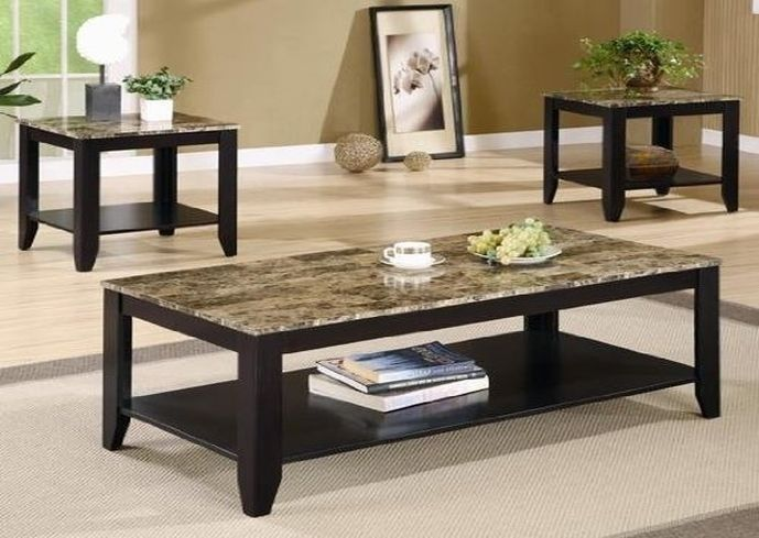 Granite Coffee Table Set Foter