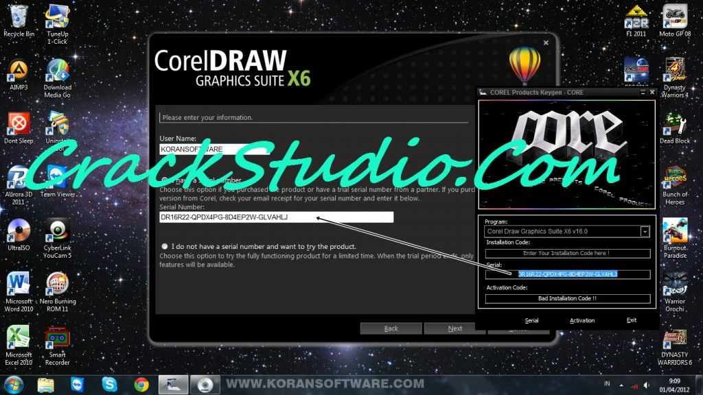 Coreldraw Graphic Suite X6 Serial Number Activation Number Full