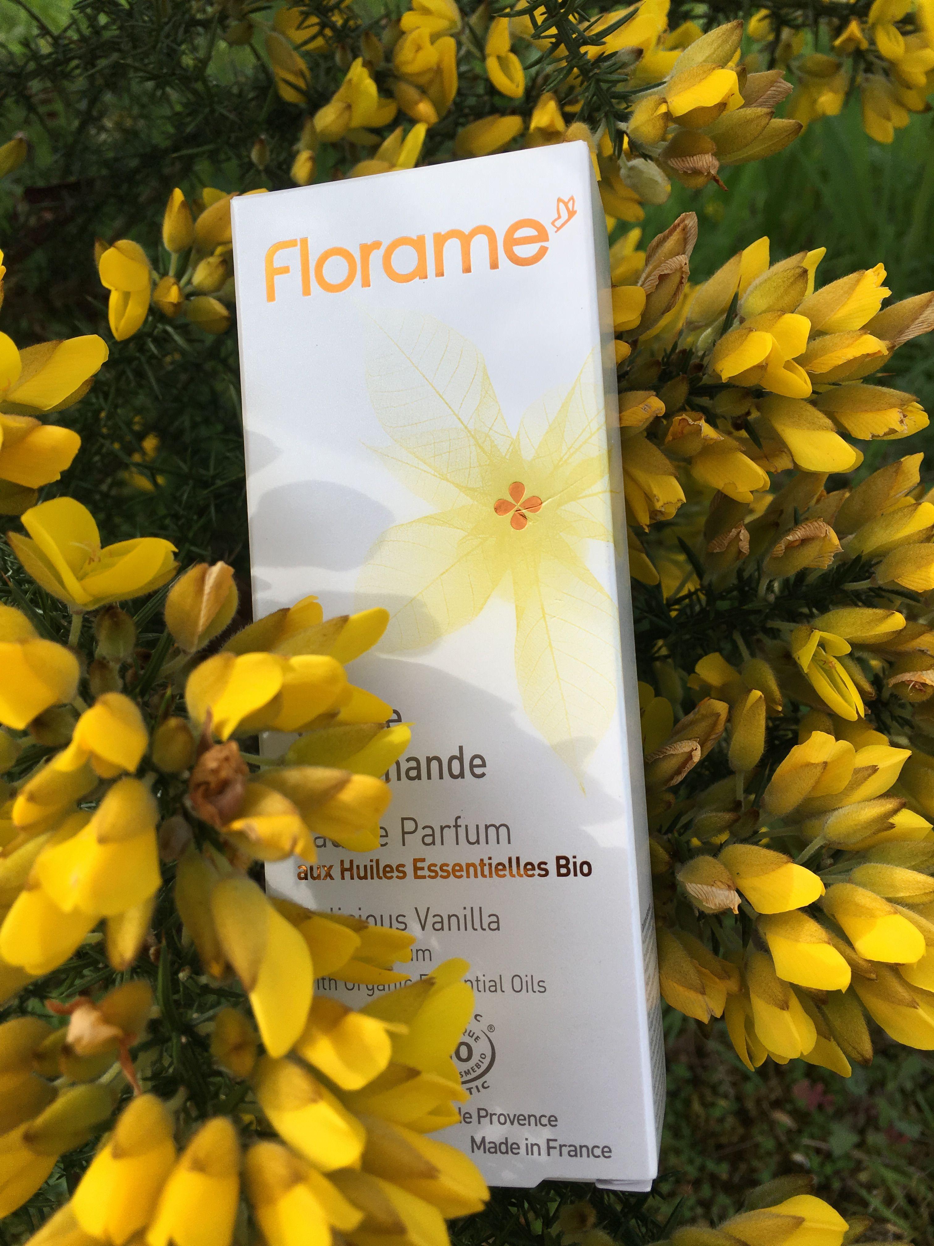 Perfume de vainilla Florame 50 ml De 42 eur a solo 15 por promoción mudanza