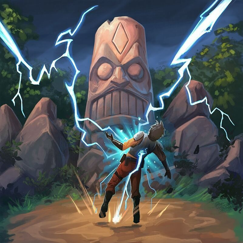 BZZZZZZZZTTTTTT...Working on some new stuff and busy week so no daily sketching. Here is another card art for Hi-Rez's Paladins.  #paladins #smite #conceptart #hirezstudios #gamedev #moba #cardart #draw