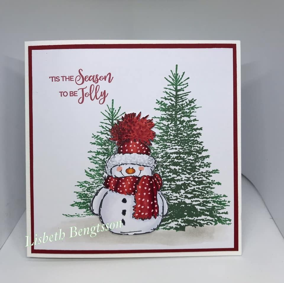 Fantastic Cartoon Snowman Birthday Decoration Christmas Card 3d Greeting Card BB