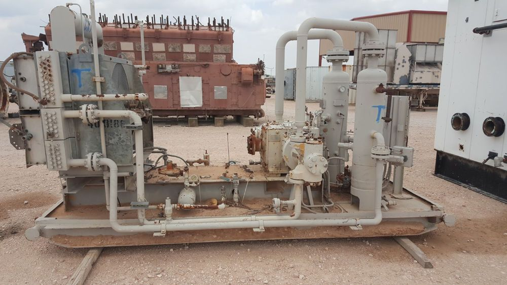 Energy Industries Natural Gas Compressor Skid, Cooler