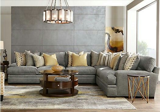 Pin By Leslie Tomecsek On Home Improvements Living Room Sets Furniture Living Room Sets Living Room Grey