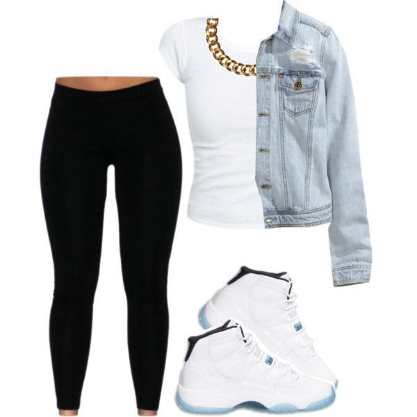 extraordinary female outfits with jordans 8