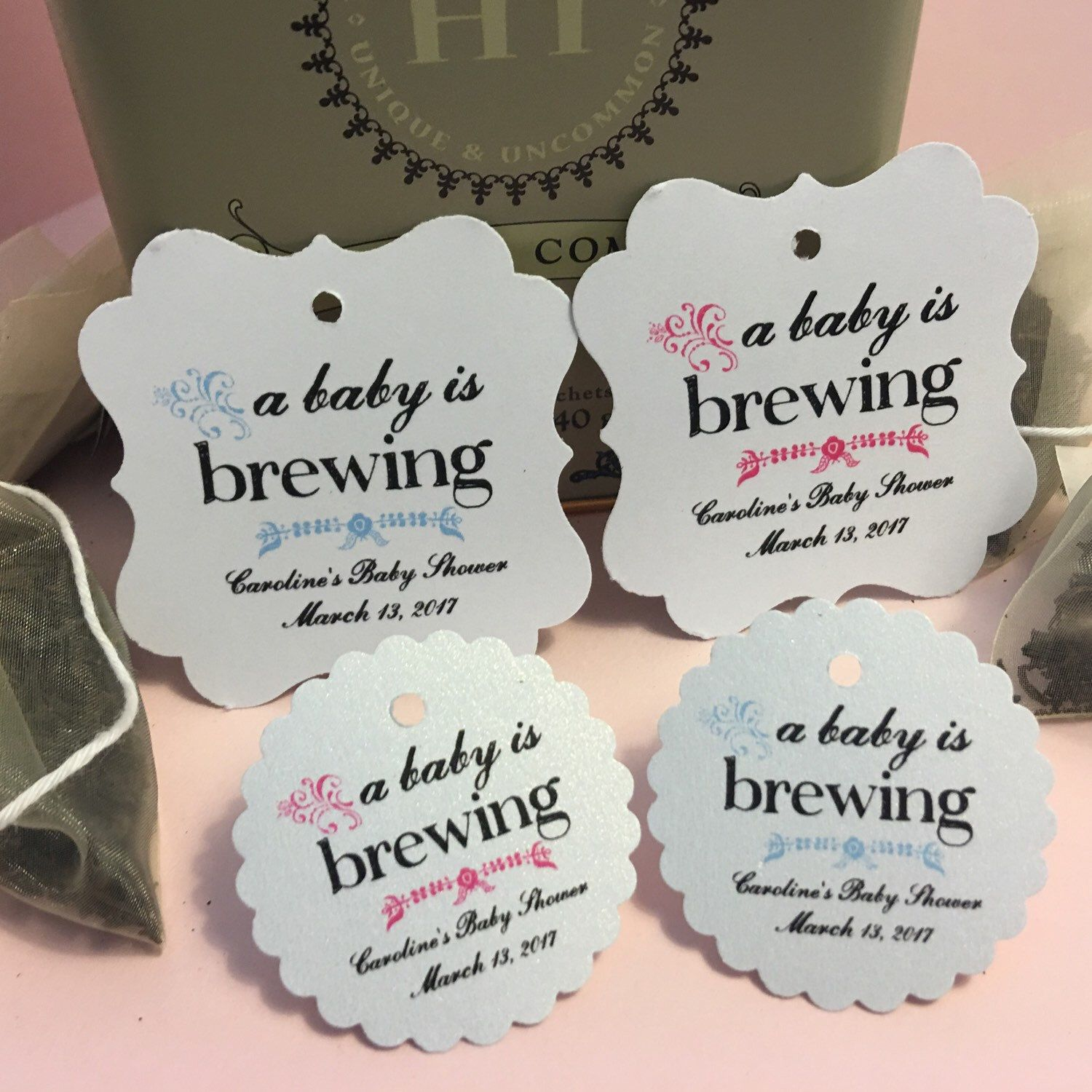 A baby is brewing! Share your most favorite tea with party guests ...