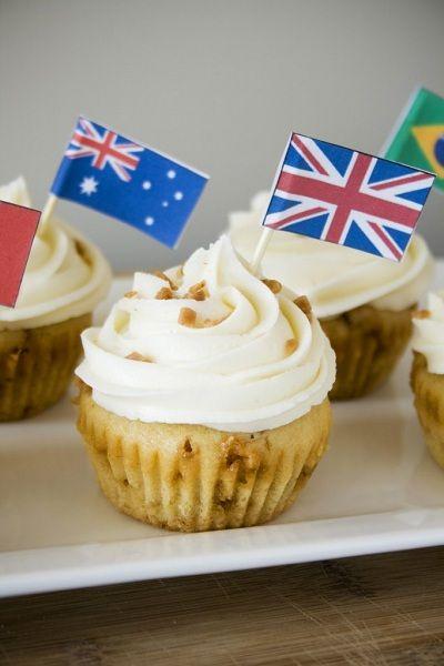 Katiesheadesign Cupcakes English Toffee Cupcakes Fun