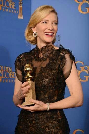 Ceremonia globos de Oro 2015- Cate Blanchett
