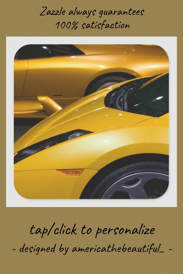 USA California Los Angeles: Los Angeles Auto Square Sticker #auto #usa #luxury #aerodynamic #sleek #SquareSticker #AlfaRomeo