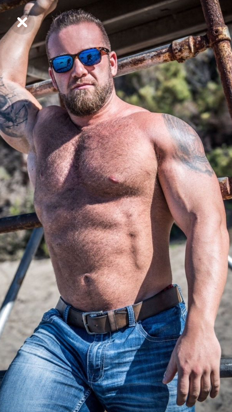 Beefy and hairy men