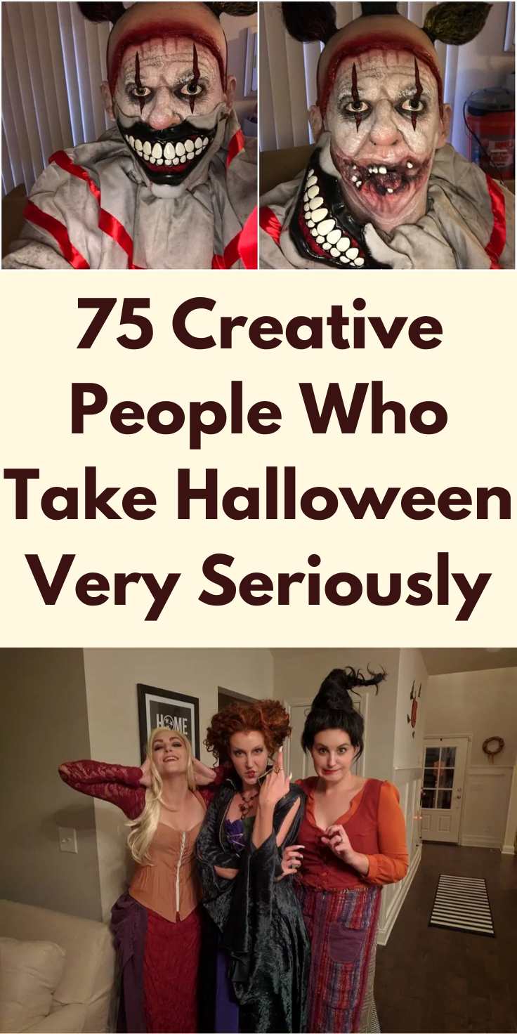 75 Creative People Who Take Halloween Very Seriously