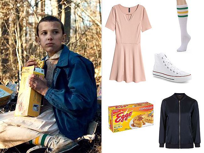 Easy Halloween Costume Ideas You Already Have in Your Closet - Eleven from Stranger Things  sc 1 st  Pinterest & Celebrity Halloween Costumes You Already Have in Your Closet ...