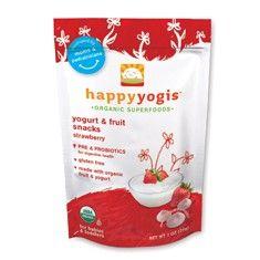 Happy Yogis | Organic Yogurt Finger Food Snack with Pre-Probiotics #HFecofriendlyeaster