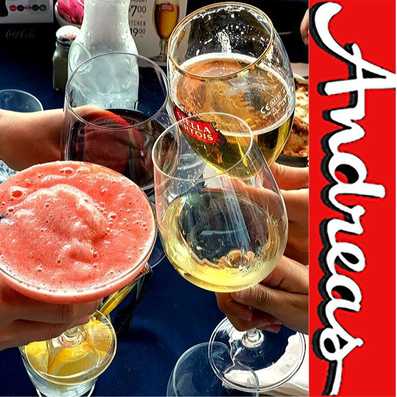 Drinks! Feeling moody? Come enjoy a drink at Andreas with friends or family! 153 West 16th Street, North Vancouver