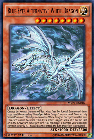 Blue Eyes Alternative White Dragon White Dragon Yugioh Dark Side Of Dimensions