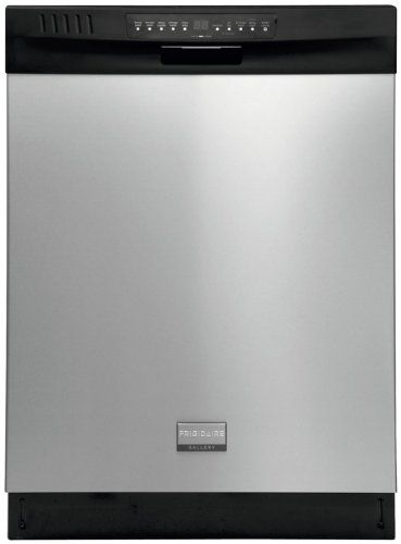 "Frigidaire 24"" Dishwasher w/ Stainless Steel Interior- Gallery Mono Group - http://bestdishwashershop.net/frigidaire-24-dishwasher-w-stainless-steel-interior-gallery-mono-group"
