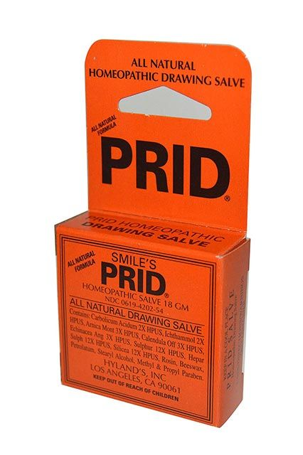 Smile's PRID Homeopathic Drawing Salve   hair, skin & nails