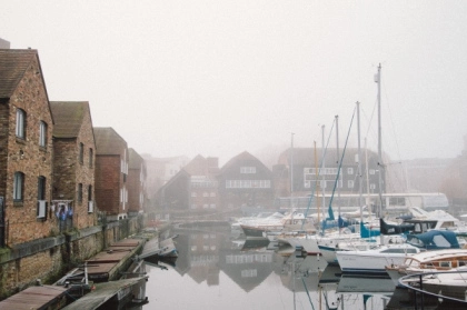 LondonLife – Misty day at St Katharine Docks… | Exploring London