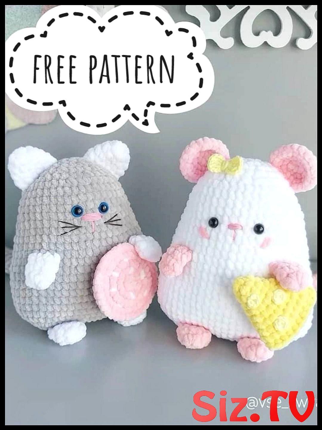 Free Amigurumi Pattern: Cube Kitty Cat pattern by Crafty Bunny Bun ... | 1438x1079