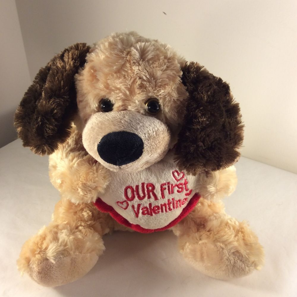 2011 Dan Dee Collector S Choice Puppy Dog Plush Stuffed Toy Heart First Valentin Plush Stuffed Animals Toy Heart Dogs And Puppies [ 1000 x 1000 Pixel ]