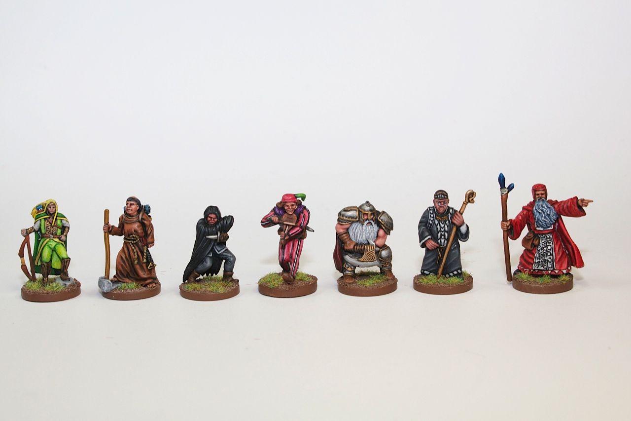 Talisman painted minis. Talisman painted minis Game Workshop, Custom Art,  Miniatures ...
