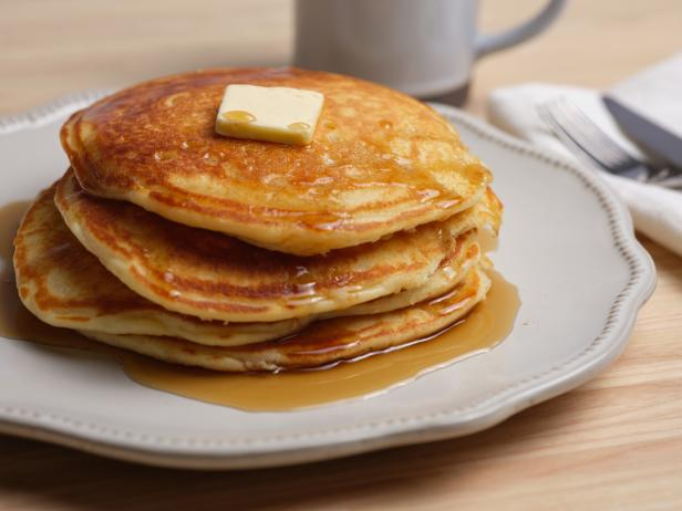 The Best Buttermilk Pancakes Recipe In 2020 Food Network Recipes Buttermilk Pancakes Recipes