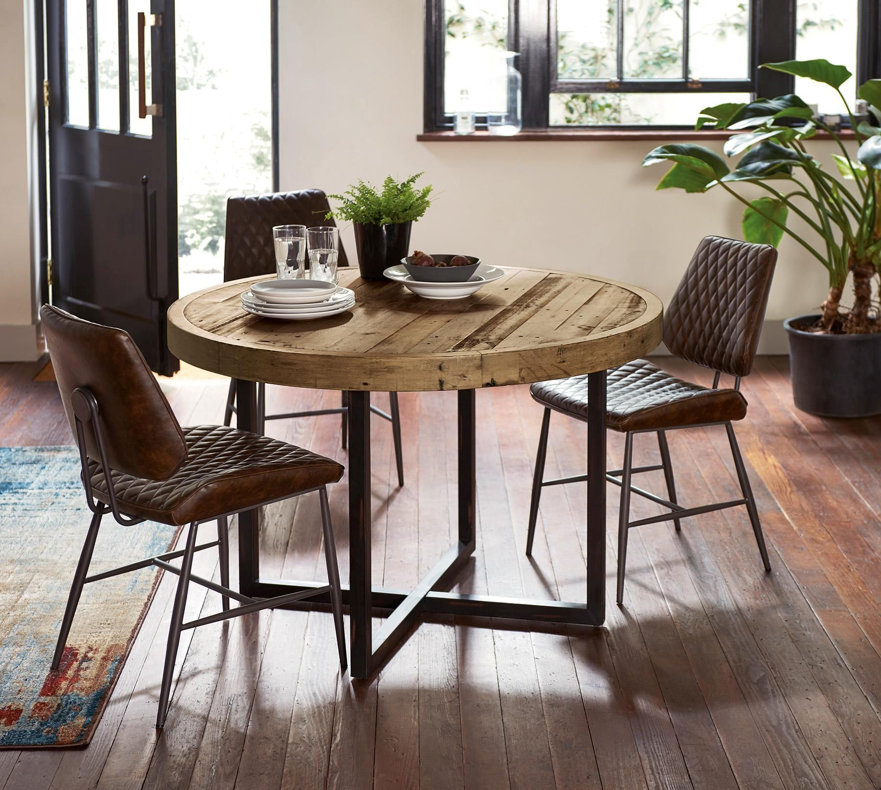Blake Round Dining Table By Baker Furniture From The Next Uk Online