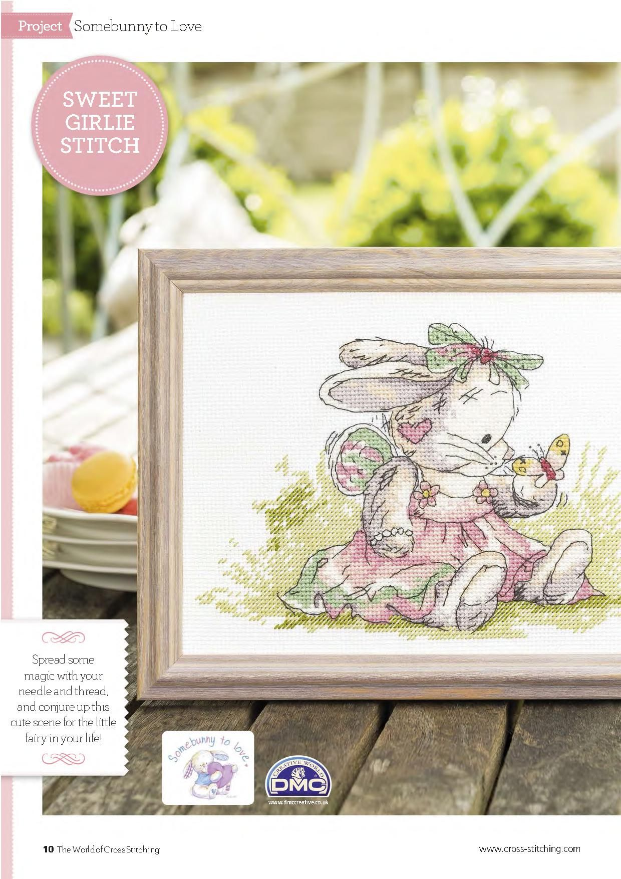 Pretty As A Princess (Somebunny) From The World of Cross Stitching N°126 September 2015 1 of 4