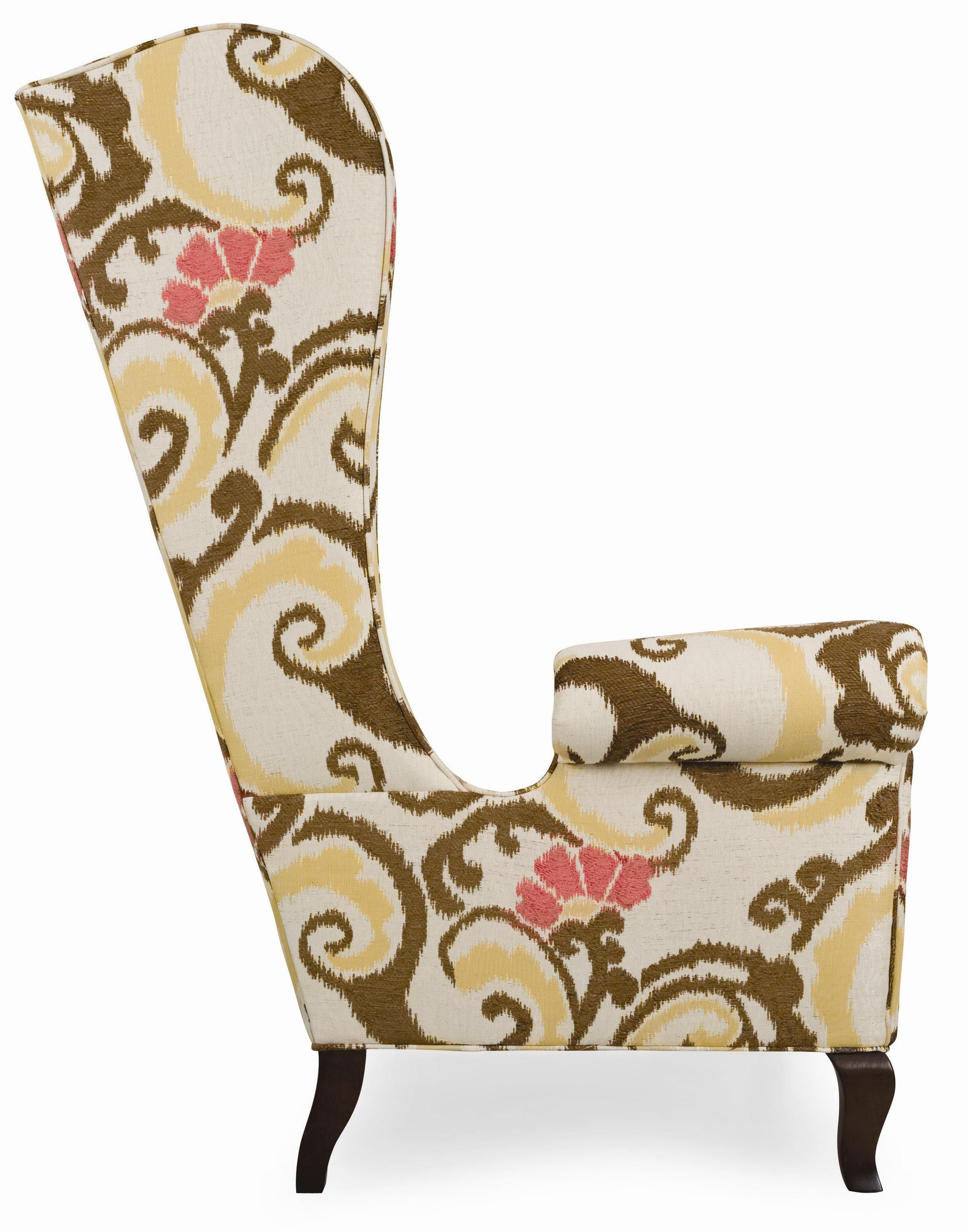 Accents Cordell Contemporary Wing Chair By C.R. Laine   Jacksonville  Furniture Mart   Wing Chair Jacksonville