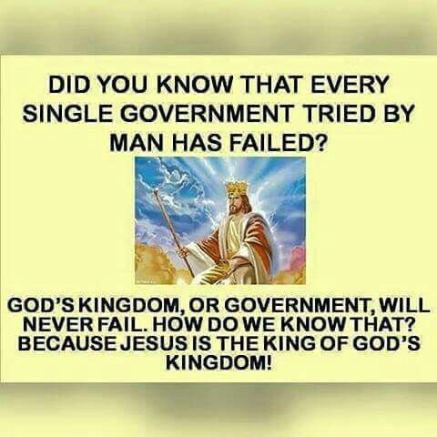BS Says: Isaiah 9:6,7 Daniel 2:44, Pray Pray Pray for our Government, so our Heavenly Father will lead them to do the right thing for our Country♥♥I so much believe in our Heavenly Father♥♥