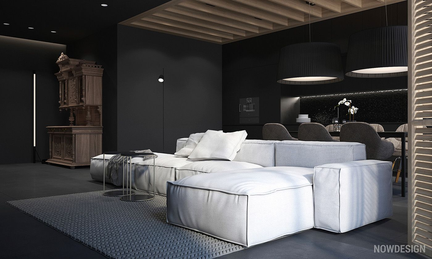 How Do You Feel About Black Walls In The Home It May Seem Like An Unusual Choice Era Where Bright White And Subtle Pastels Dominate Top Design