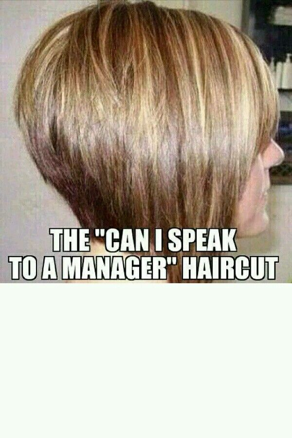Let Me See Your Manager Haircut : manager, haircut, SPEAK, MANAGER