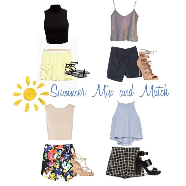 Summer Mix and Match by fromphilly on Polyvore featuring polyvore, fashion, style, Zara, Alice + Olivia, Forever New, Narciso Rodriguez, Boohoo, TIBI, Office, H&M, MICHAEL Michael Kors and Ted Baker