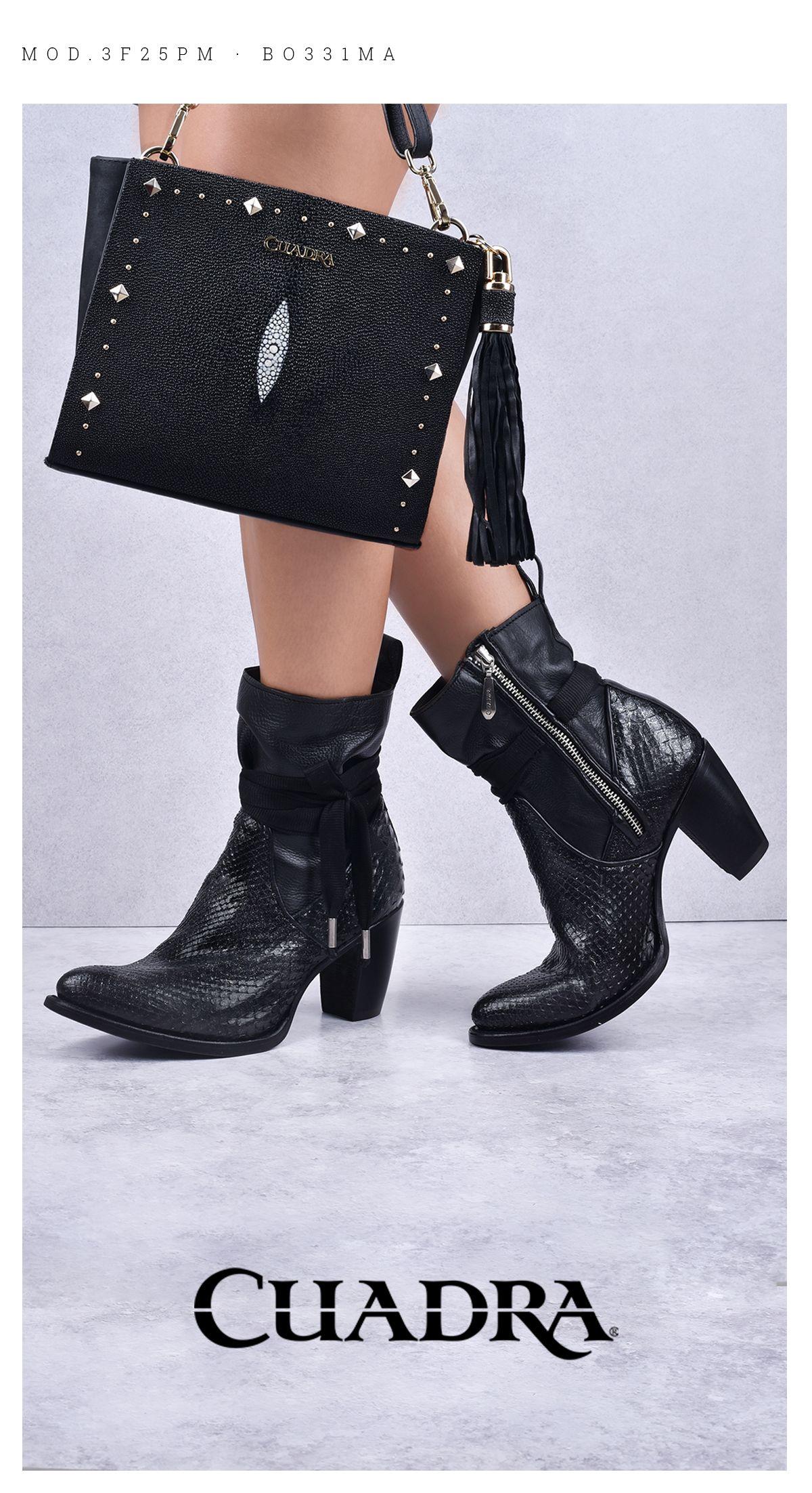venta barata del reino unido nuevo lanzamiento compra especial Moda Otoño Invierno 2018 Cuadra. #moda #botinesmujer ...