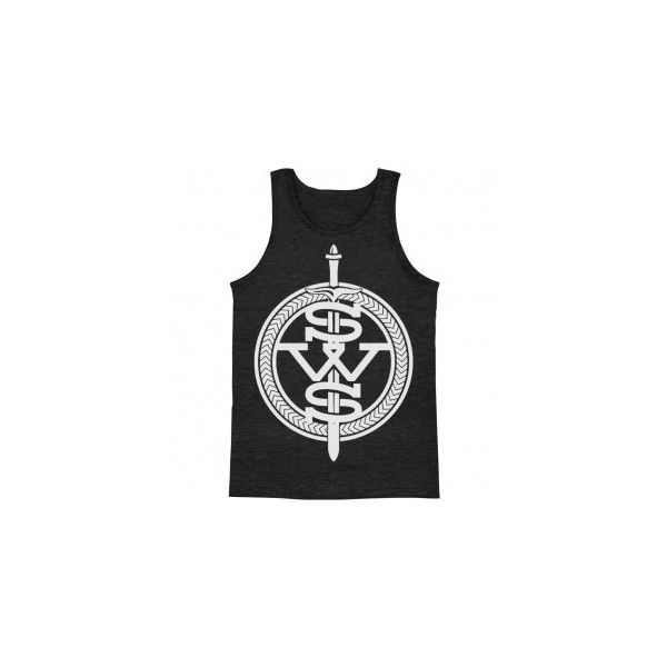 Sleeping With Sirens White Symbol Mens Tank 23 Liked On