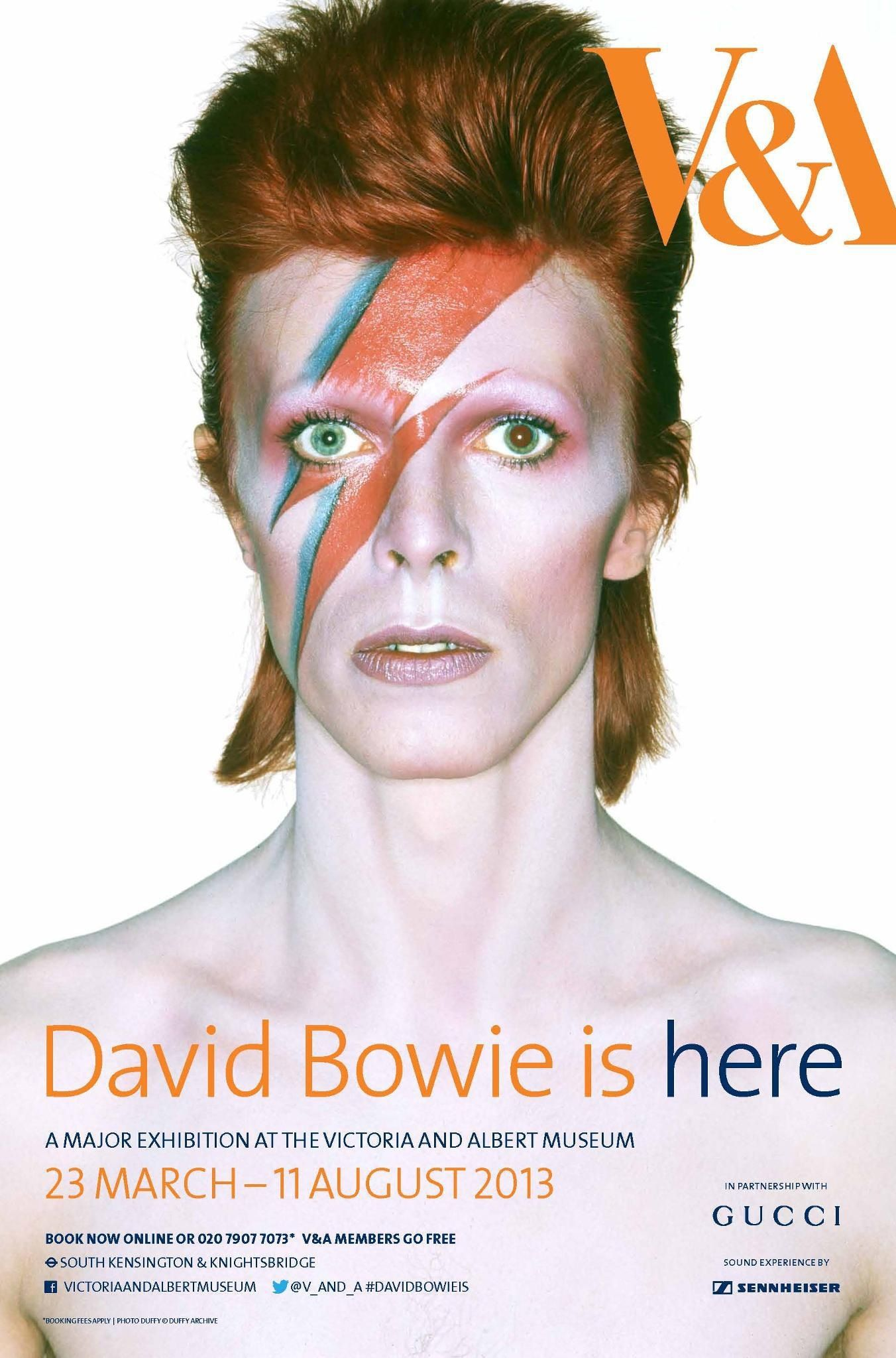 David Bowie is, Victoria & Albert Museum, London