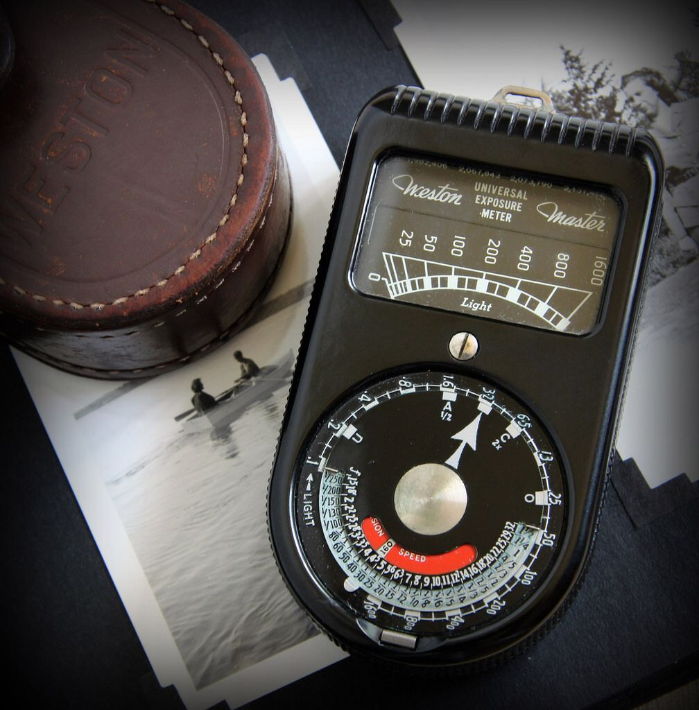 Vintage Weston 715 Universal Exposure light Meter - 1939