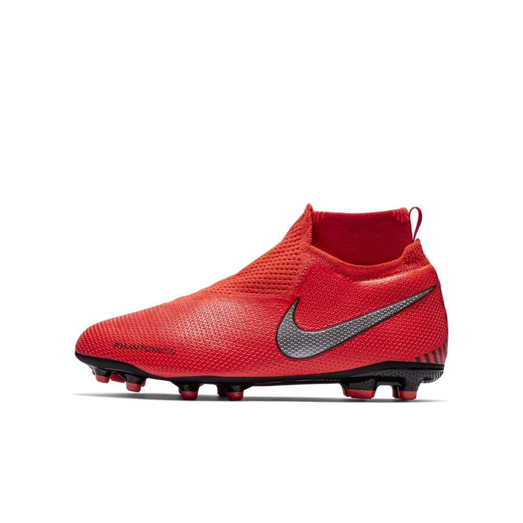 e9b13fb525 Nike Jr. PhantomVSN Elite Dynamic Fit Game Over MG Big Kids' Multi-Ground  Soccer Cleat Size 6Y (Bright Crimson)