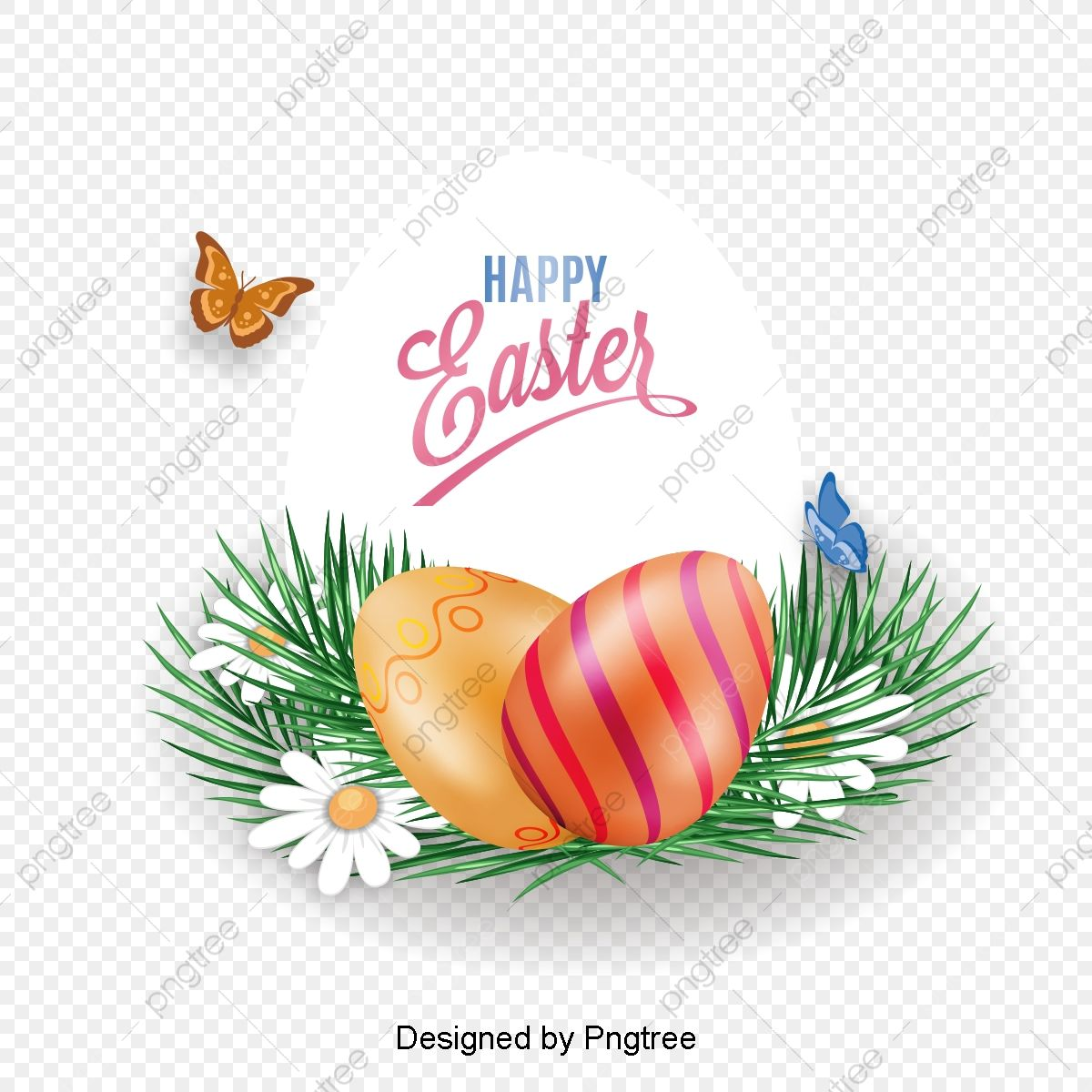 Vector Painted Easter Eggs Vector Painted Easter Png Transparent Clipart Image And Psd File For Free Download Easter Egg Painting Easter Pictures Clip Art