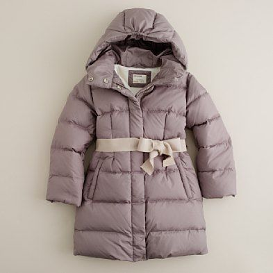 J. Crew Girls Puffer Jacket Yay for fitting into little girl ...