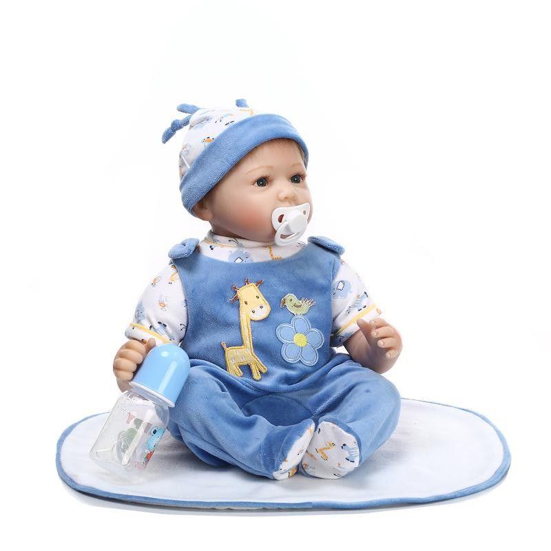 22/'/' REBORN BABY DOLLS REAL LIFE LIKE LOOKING NEWBORN BABY  BOY GIRL DOLL TWINS