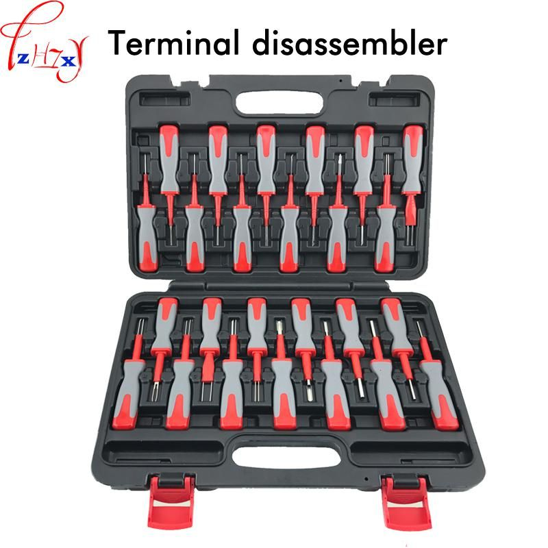25pcs/set terminal disassembly tool car terminal wire