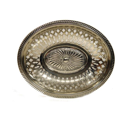 WMF Fruit Bowl Antique Silver Plate Bowl c.1900s | Wmf and Bowls