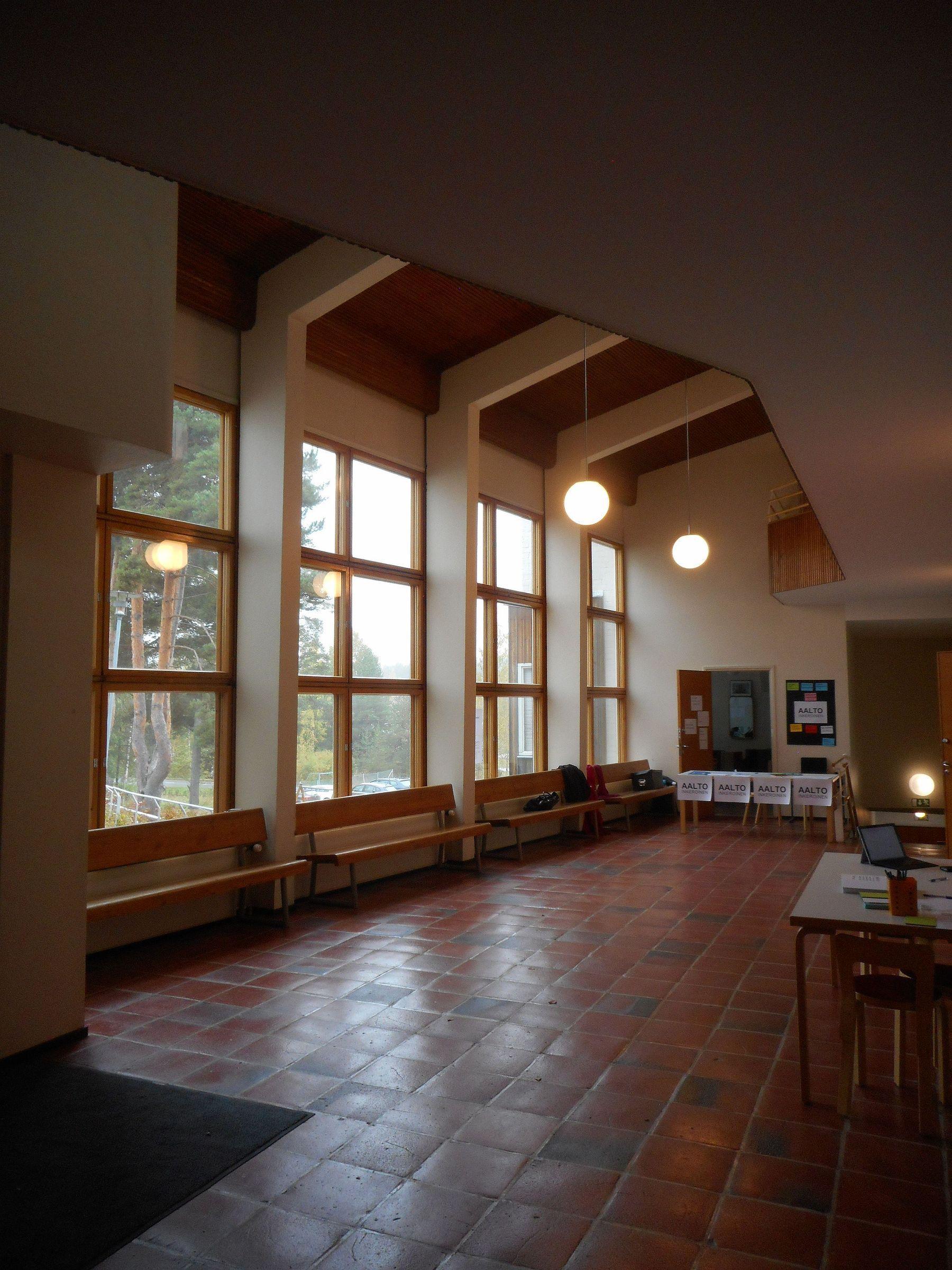 Meuble Salle De Bain Pierre Et Bois ~ Tehtaanm Ki School Inkeroinen Alvar Aalto Pinterest Alvar