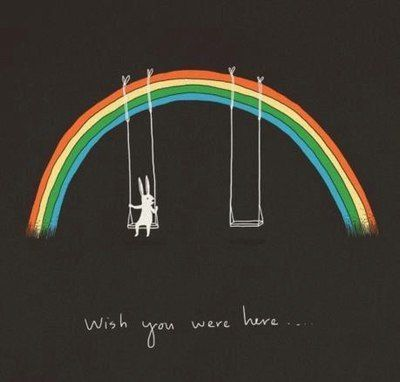 wish you were here bunny rainbow | Just for the Laughs in