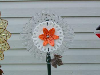 Vicki's beautiful Glass flowers