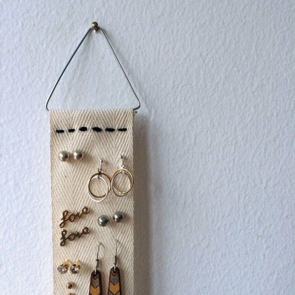 Diy Earring Ribbon Holder Ribbon Holders Bottle Opener Wall